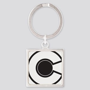 2-colorado C Square Keychain