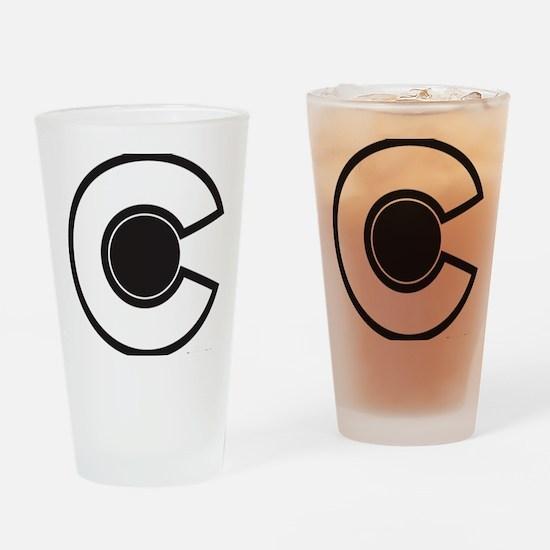 2-colorado C Drinking Glass