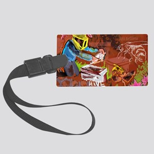 Mighty Bee: The Beekeeper and Th Large Luggage Tag