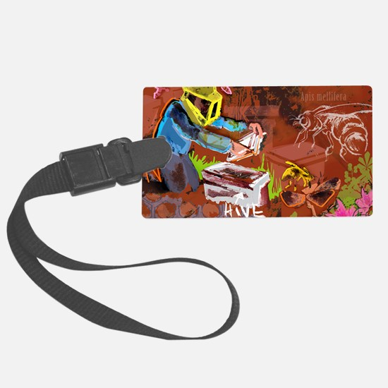 Mighty Bee: The Beekeeper and Th Luggage Tag