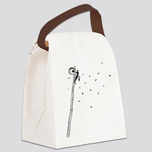 Mighty Bee: Ancient Honey Gathere Canvas Lunch Bag