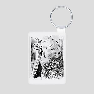 Mighty Bee: Ancient Honey  Aluminum Photo Keychain