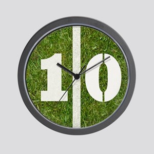 10th bday 6x6 Wall Clock