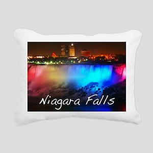 Niagara Falls Rectangular Canvas Pillow