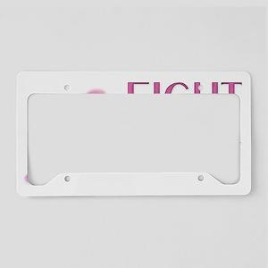 FightBreastCancer License Plate Holder