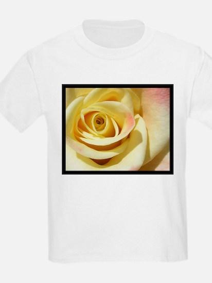 Blushing rose Kids T-Shirt
