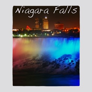 Niagara Falls Throw Blanket