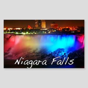 Niagara Falls Sticker (Rectangle)