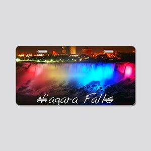 Niagara Falls Aluminum License Plate