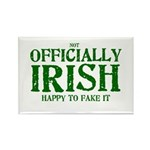 Officially Irish Rectangle Magnet