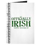 Officially Irish Journal