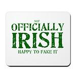 Officially Irish Mousepad