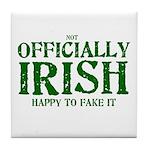 Officially Irish Tile Coaster