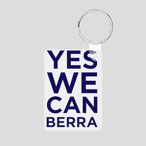 yeswecan2berra Aluminum Photo Keychain