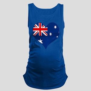 Peace Love Australia Maternity Tank Top