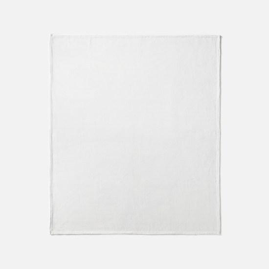 dg3white Throw Blanket