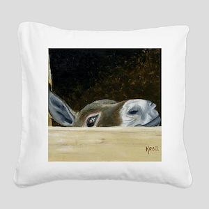 Iwannaseemousepad Square Canvas Pillow
