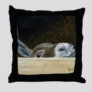 Iwannaseemousepad Throw Pillow
