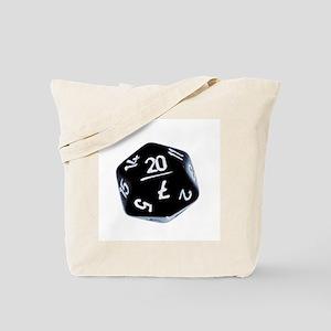 black D20 Tote Bag