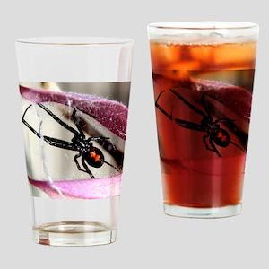 Black Widow Drinking Glass