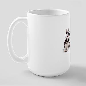 huskydadshirt Large Mug