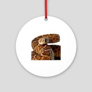 Rattlesnake Round Ornament