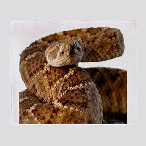 Rattlesnake Throw Blanket