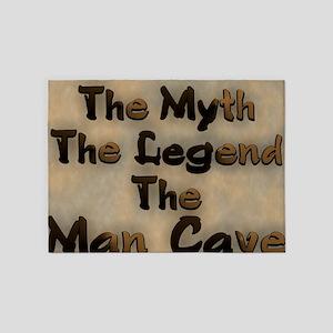 The Myth, The Legend 5'x7'Area Rug