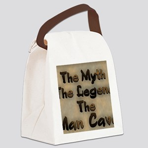 The Myth, The Legend Canvas Lunch Bag