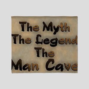 The Myth, The Legend Throw Blanket