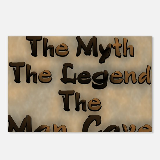The Myth, The Legend Postcards (Package of 8)
