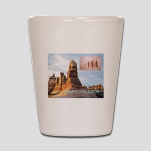 canyonlands1 Shot Glass