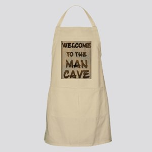 Welcome To the Man Cave Apron