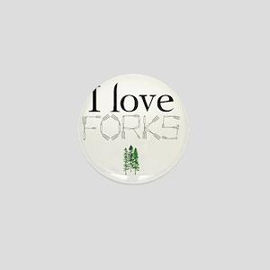 love forks 2 Mini Button