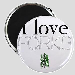 love forks 2 Magnet