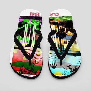 WAYCROSS HI POP_Dark Flip Flops
