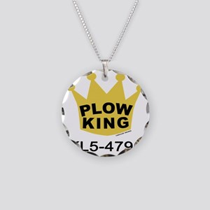 PLOW KING Necklace Circle Charm