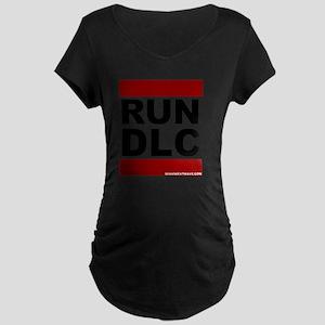 run_dlc_large_MHW_black Maternity Dark T-Shirt