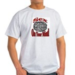 Sex On Your Mind Ash Grey T-Shirt