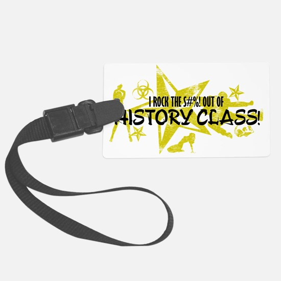 HISTORY CLASS Luggage Tag