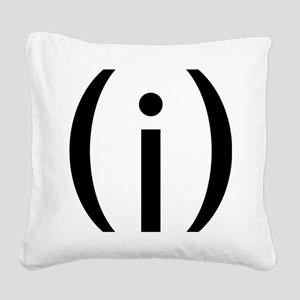 VULVAb Square Canvas Pillow