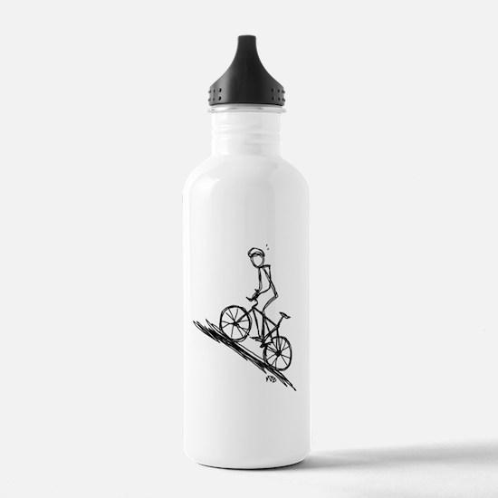 Mountain biker copy Water Bottle