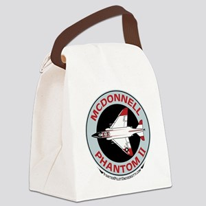 McDonnell_PhantomII_Wht Canvas Lunch Bag
