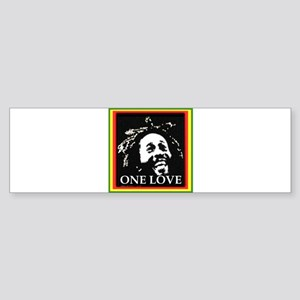 ONE LOVE Bumper Sticker