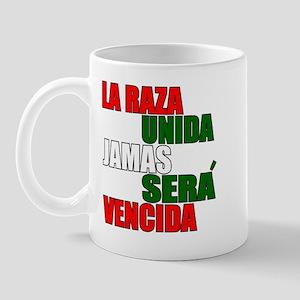 LA RAZA UNIDA JAMAS WHT Mug