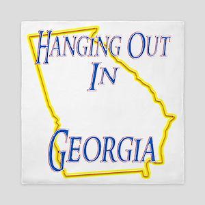 Georgia - Hanging Out Queen Duvet