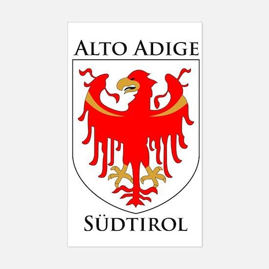 Alto Adige Sudtirol Graphic Bl Sticker (Rectangle)