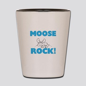 Moose rock! Shot Glass