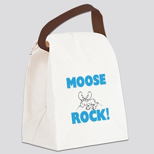Moose rock! Canvas Lunch Bag