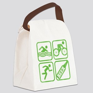 swimbikerunBeer Canvas Lunch Bag